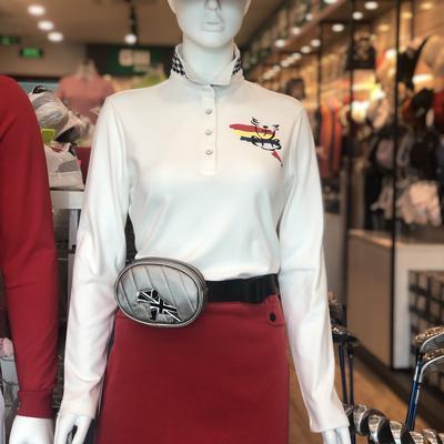 Áo polo golf nữ dài tay CASTELBAJAC BG8W-TS702